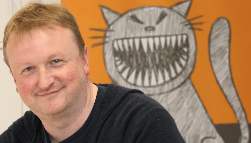 Mark Polson grinning cat 2