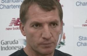 Brendan Rodgers vid