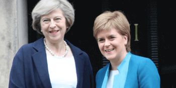 May and Sturgeon in Edinburgh
