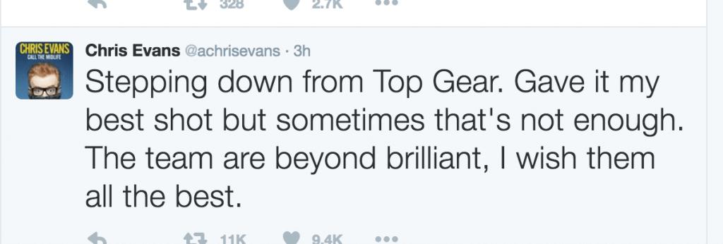 Top Gear Evans
