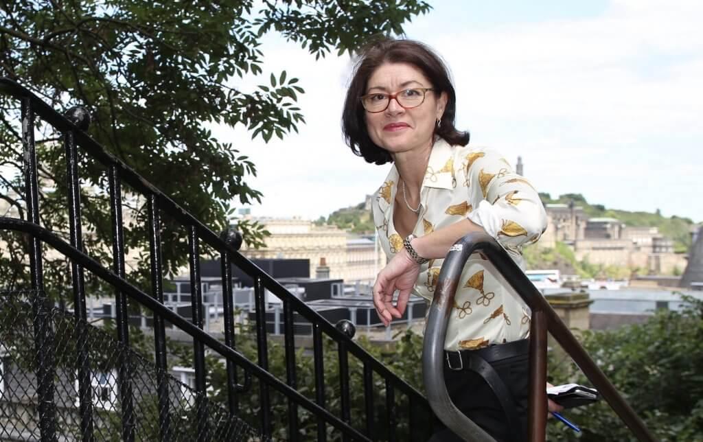 Liz McAreavey: breaking new ground (photo by Terry Murden)