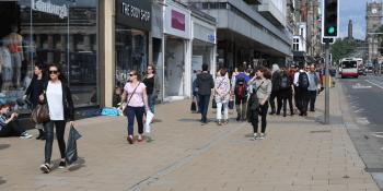 Prince St retail shopping
