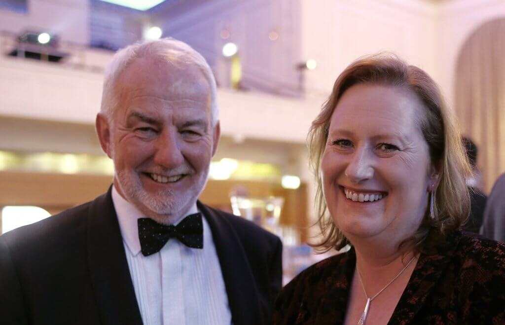 IoD Scotland director David Watt and chairman Susan Deacon (photo By Terry Murden - DB Media Services)