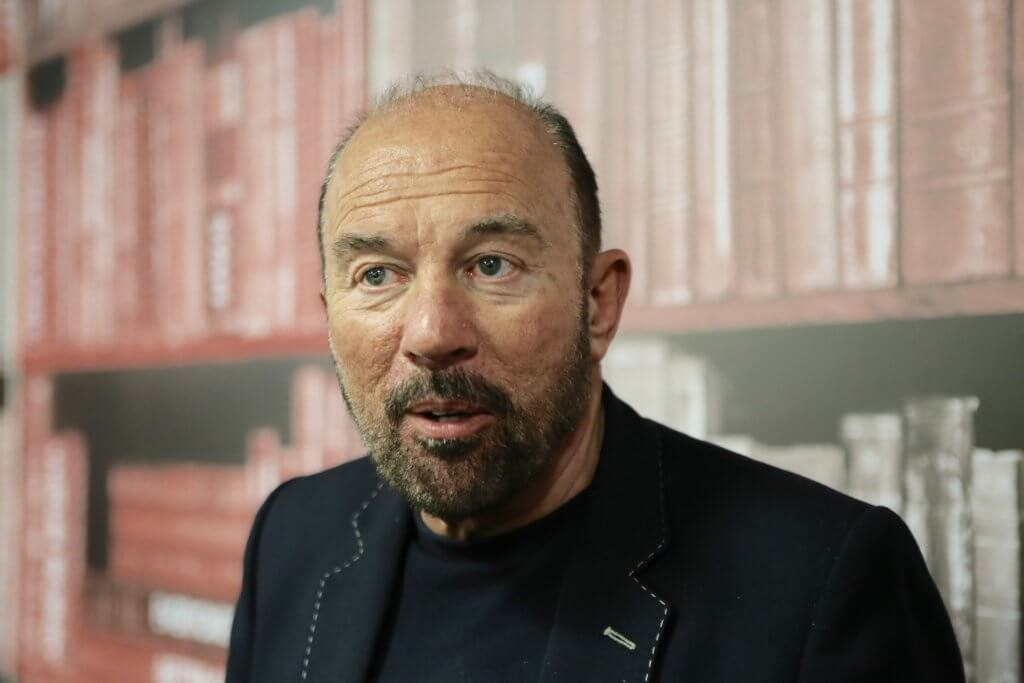 Sir Brian Souter: (photo by Terry Murden)