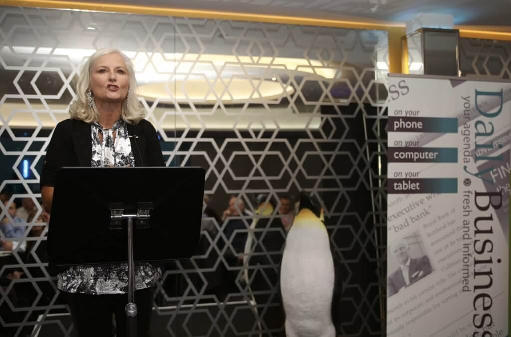 Alison Walker hosting the event