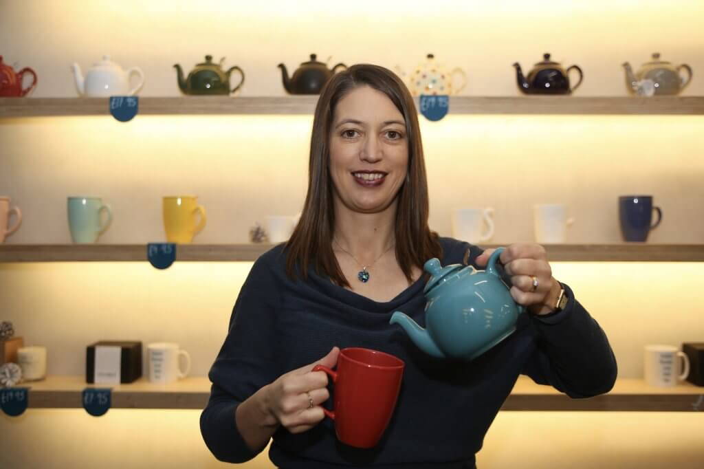 Erica Moore: leading a tea revolution (photo by Terry Murden - DB Media Services)