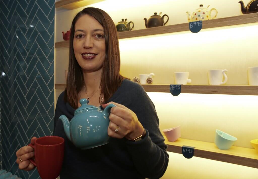 Erica Moore: tea enthusiast