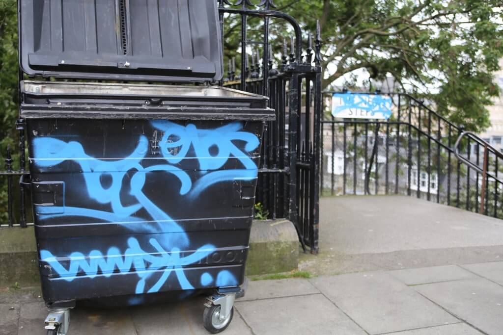 Graffiti is out of control and an eyesore