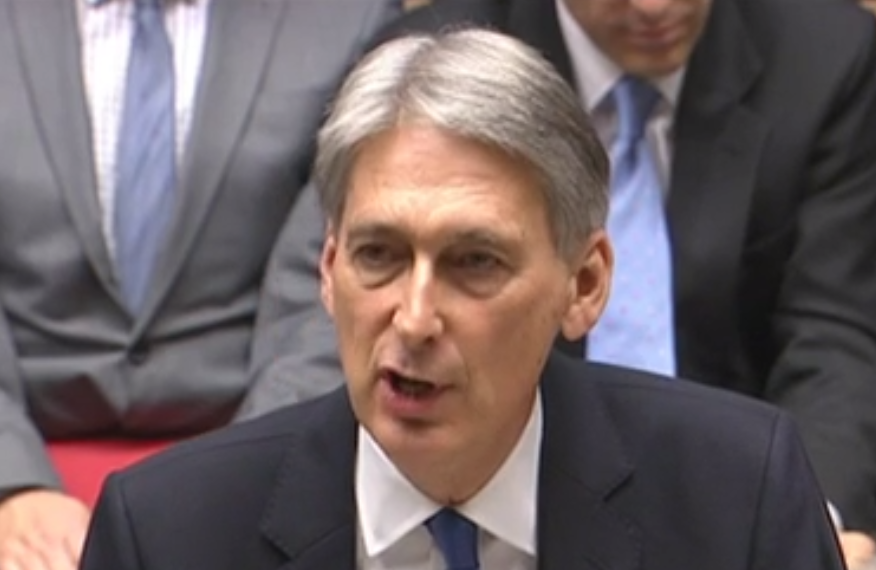 Philip Hammond, reversing national insurance pledge
