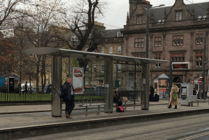 St Andrew Square tram stop