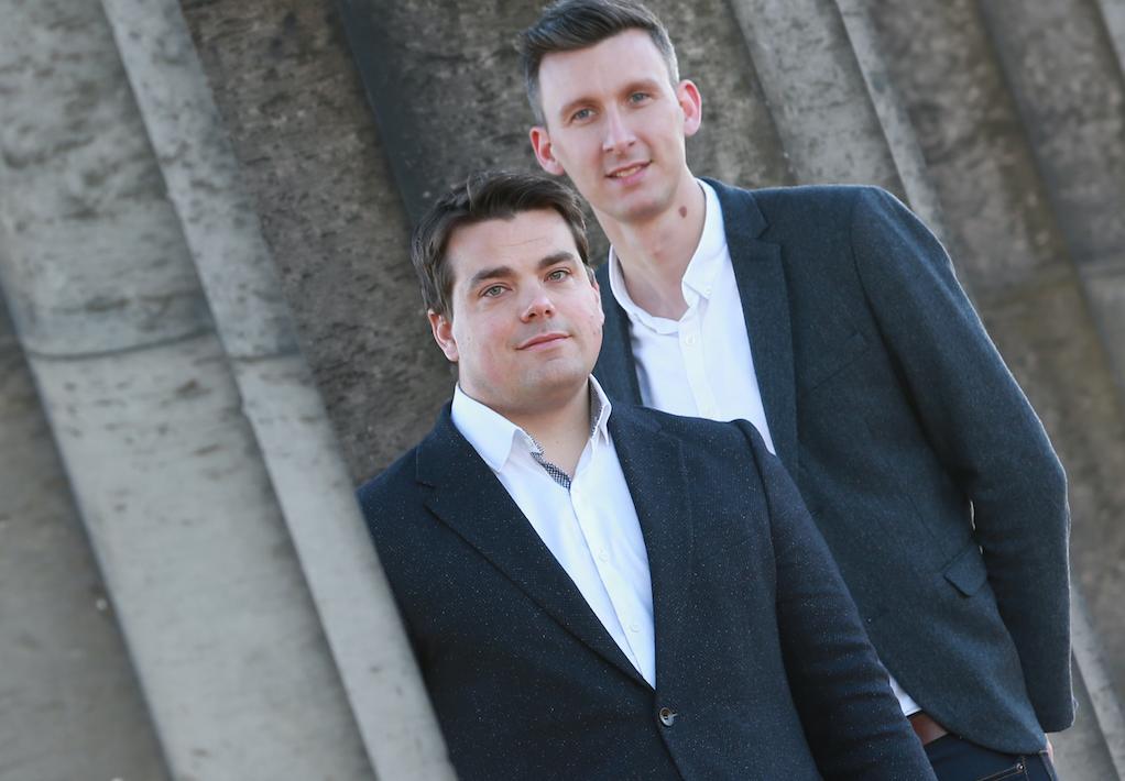 Andrew Parfery and Andrew McGinley