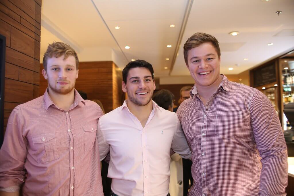 Edinburgh Rugby players