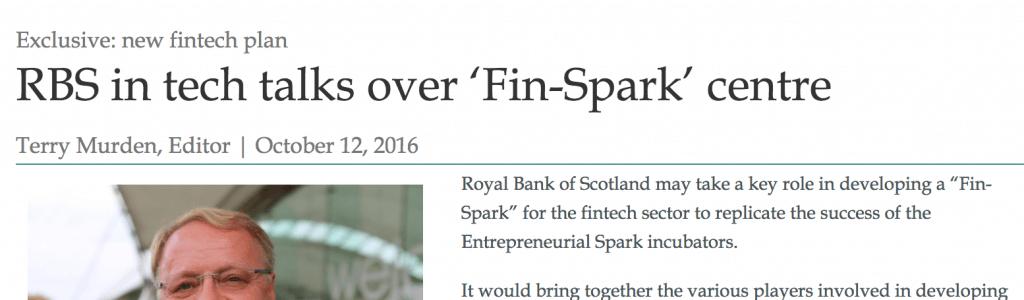 Fin Spark story
