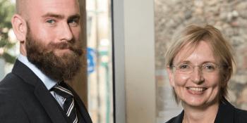 Jamie Graves and Niki McKenzie