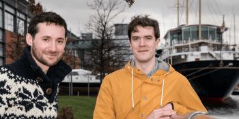Patrick Fletcher and Ian Stirling