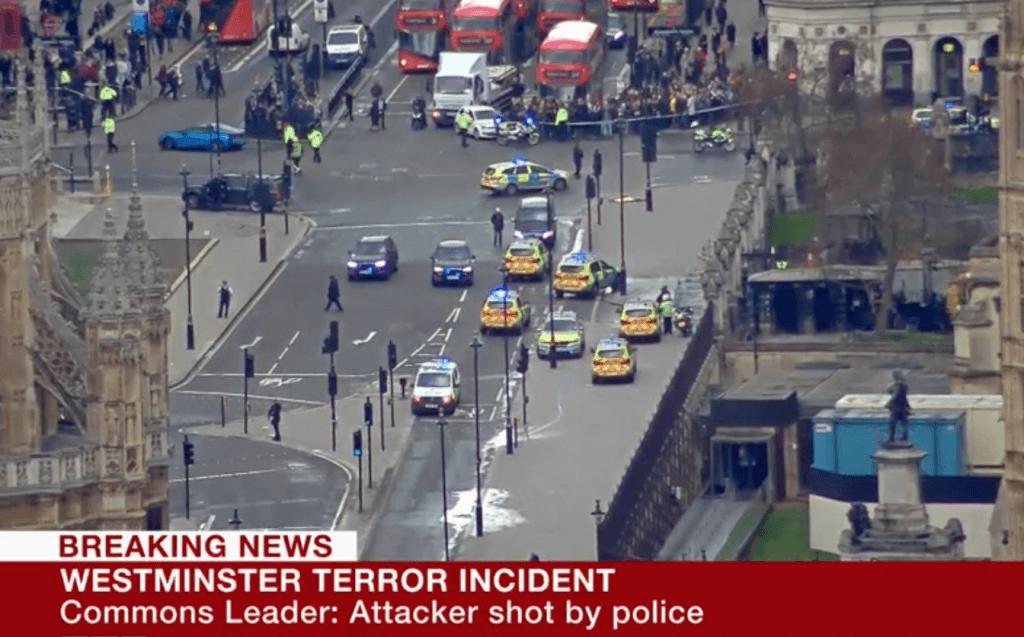 Terror alert at parliament - BBC