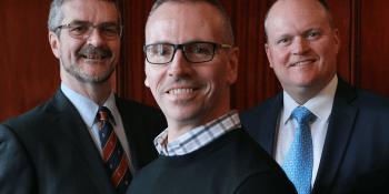 David Grahame, Steve Ewing and Bob Hair