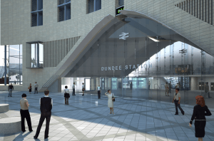 Dundee rail station