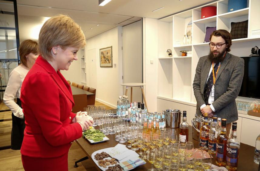 Scotland House opening