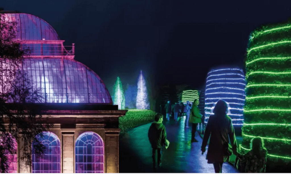 Botanic Garden light show