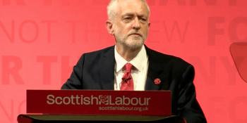 Corbyn in Glasgow