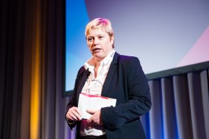 Gillian Docherty at Datafest17 - 2