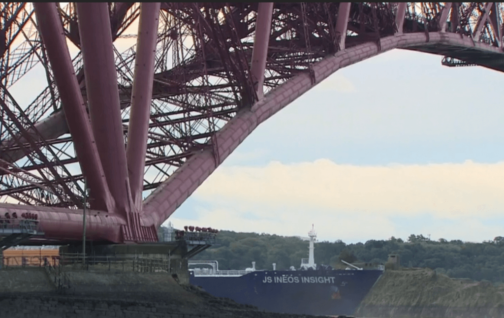 Forth Bridge first shale gas