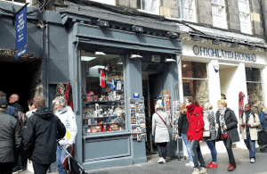 Royal Mile shop record