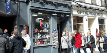 Royal Mile shop record