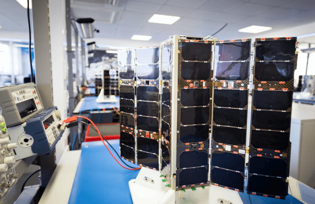Spire satellites