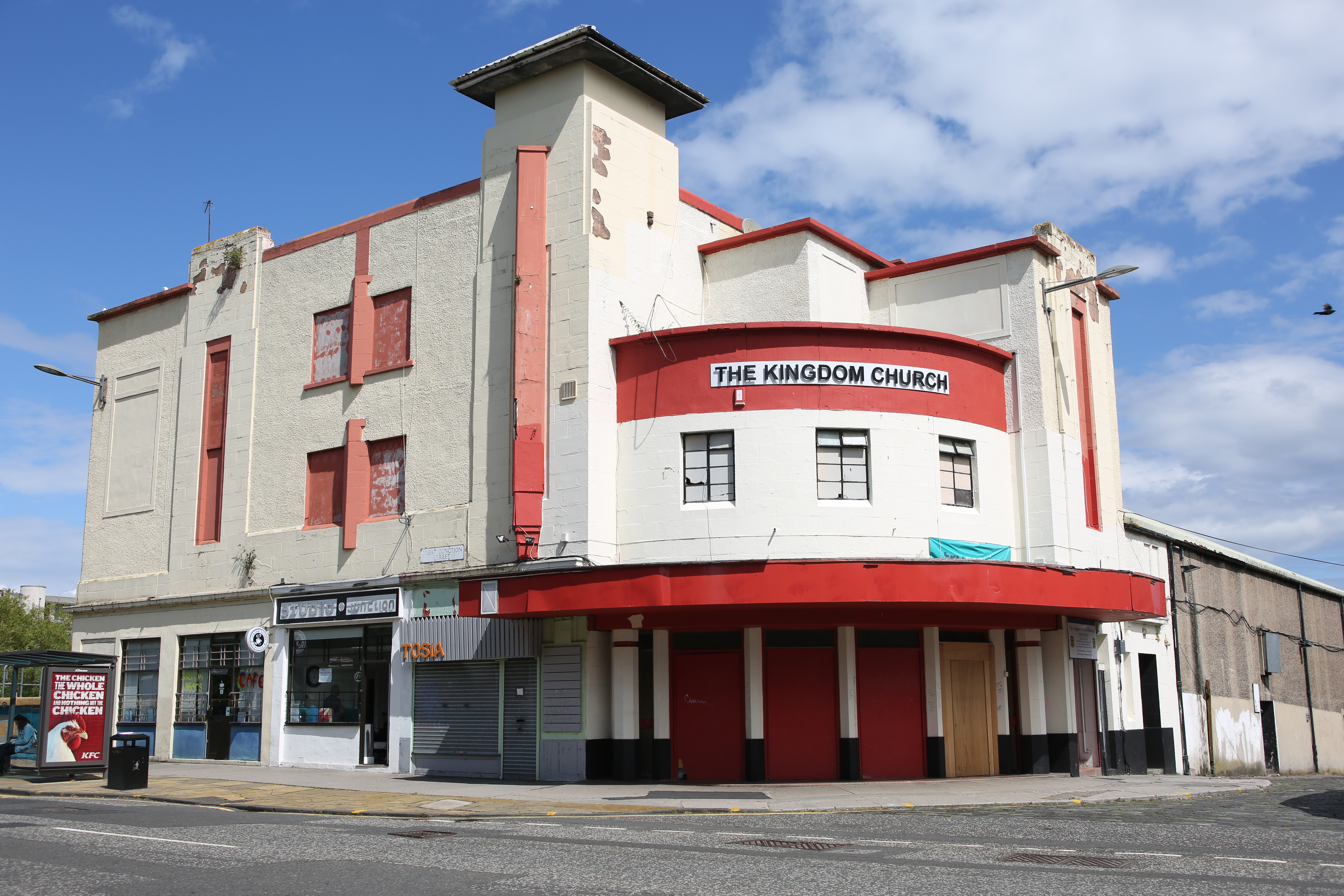 flats plan for former art deco cinema daily business