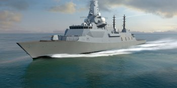 Computer image of Type 26 frigate