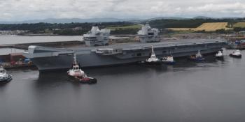 Queen Elizabeth aircraft carrier