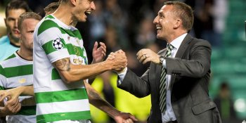 Nir Bitton and Brendan Rodgers