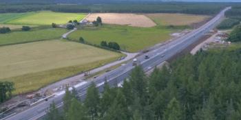 A9 dual carriageway
