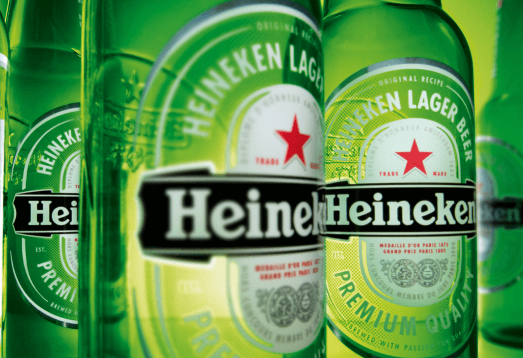Heineken drinks