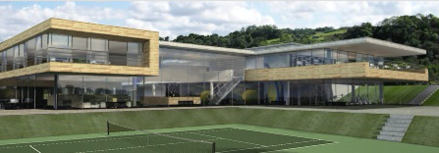 Judy Murray tennis centre