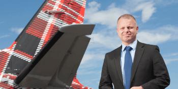 Loganair CEO Jonathan Hinkles
