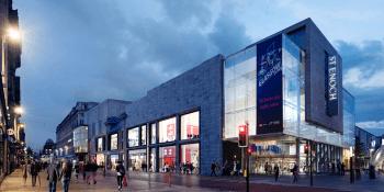 St Enoch Centre plan