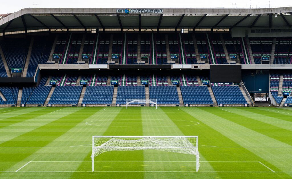 Murrayfield Stadium will host Liverpool-Napoli friendly
