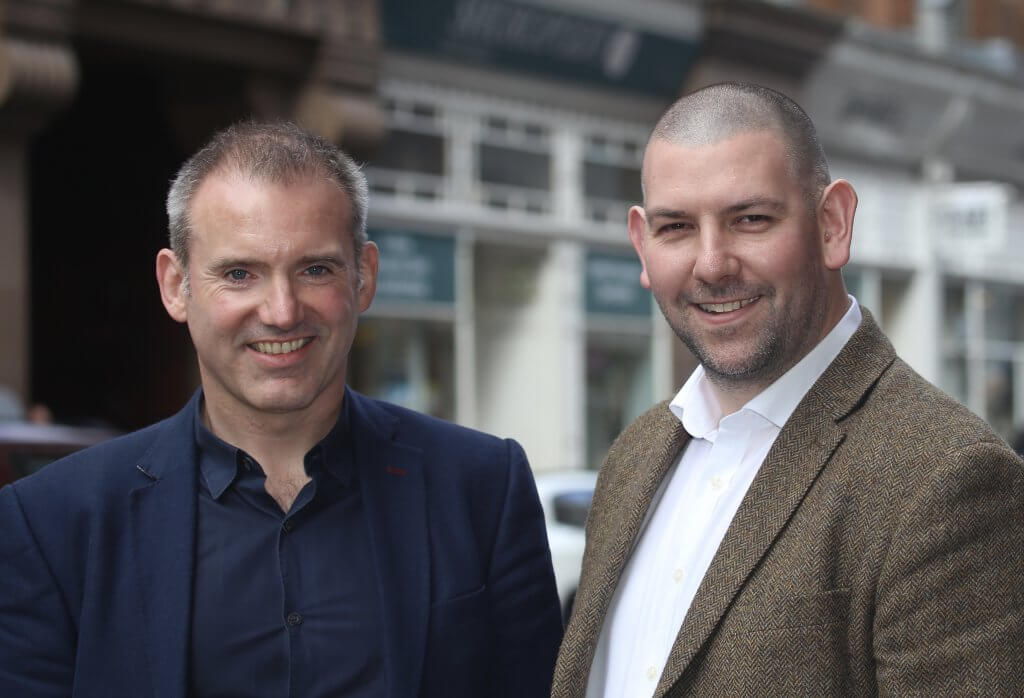 Stephen McArthur and Adam Brown