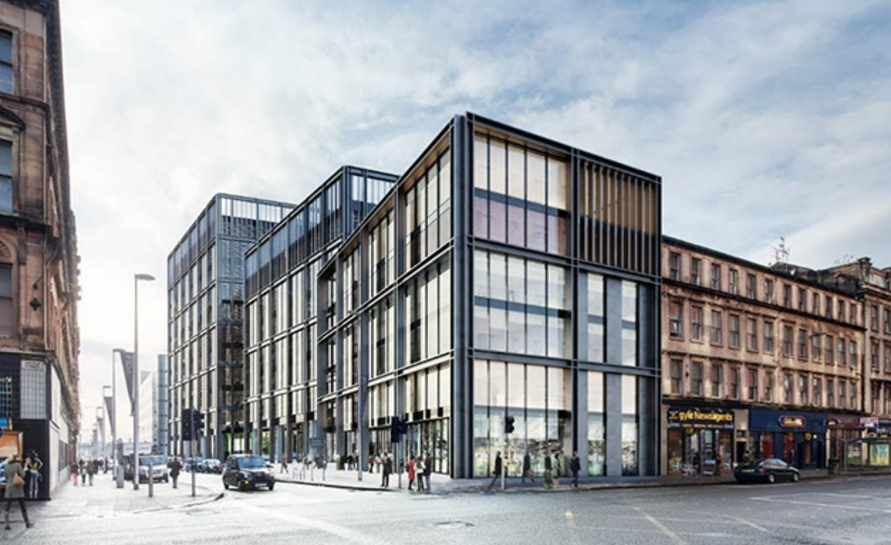 glasgow offices earmarked for hmrc hub daily business. Black Bedroom Furniture Sets. Home Design Ideas