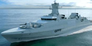 Impression of Type 31 frigate