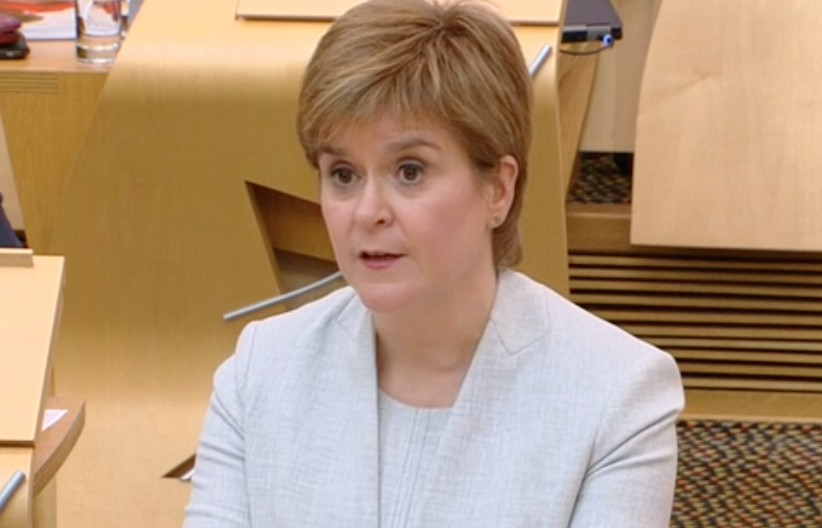 Nicola Sturgeon sept 5