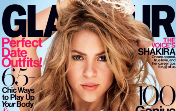 Glamour mag
