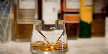 Macallan single malt whisky