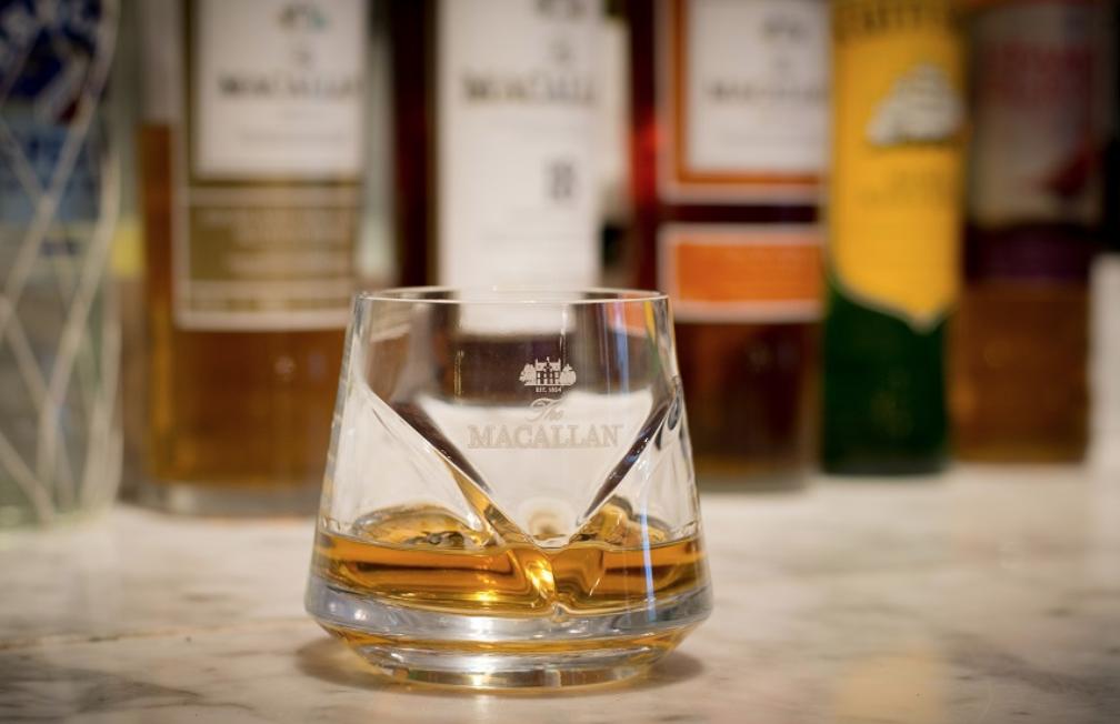 Macallan single malt whisky