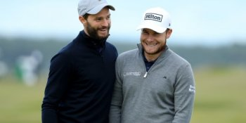 Tyrell Hatton and Jamie Dornan