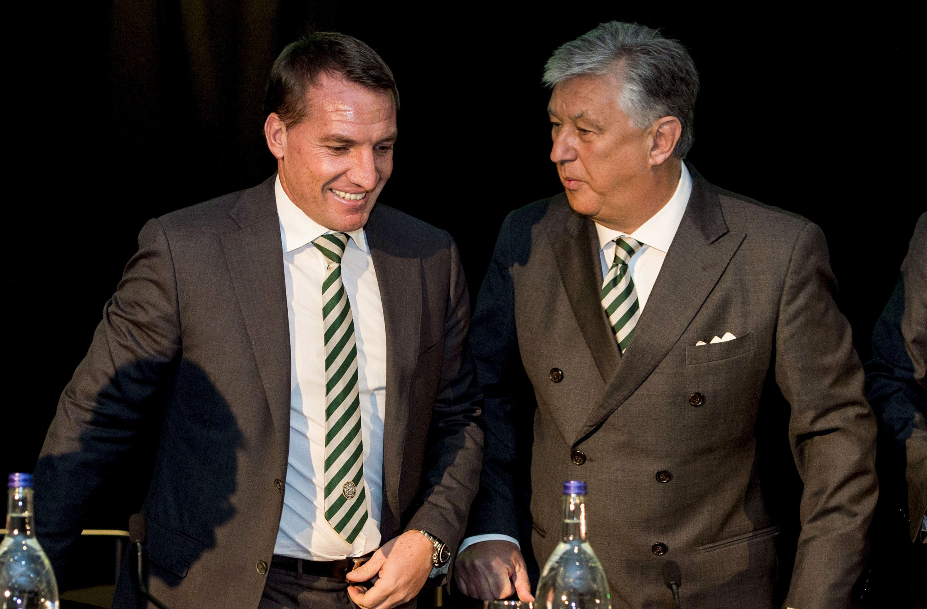 Brendan Rodgers, Peter Lawwell