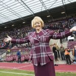Anne Budge said the year had been challenging for Hearts